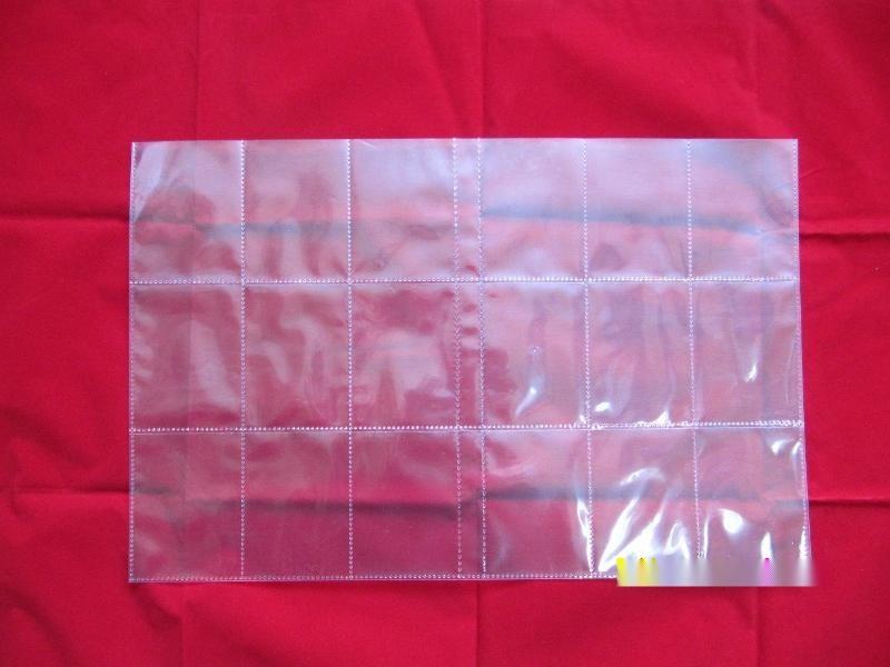 《工廠定製》16格透明PP卡袋  卡片袋 活頁袋