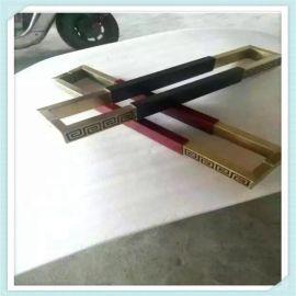 厂家直销不锈钢简易大拉手把手玻璃门大门简易拉手批发定制