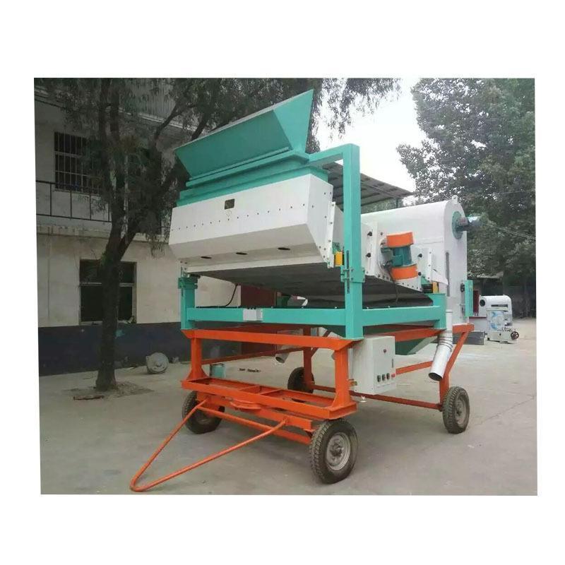 厂家直供  TQZY移动式 振动清理筛