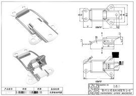 厂家供应QF-108家具连接扣 桌子拉扣 衣柜搭扣 高档旅行房车搭扣