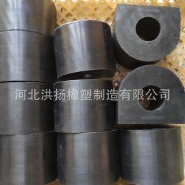 防撞橡膠墊塊 防撞橡膠墩  防衝擊橡膠塊 可定做