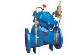 敏沃阀门 DX20BX型双控比例式减压阀 水利控制减压阀