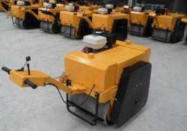 河南手扶式单轮汽油压路机 振动压路机 小型压路机