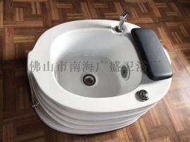 **SPA美甲专用 亚克力材质足疗盆浴足桶足浴盆