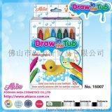 厂家直销 儿童沐浴玩具 儿童彩妆系列 多色蜡笔
