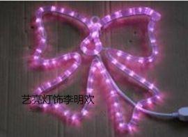 【供应中山厂家】LED春节灯画 彩虹管灯画 铁艺图形灯