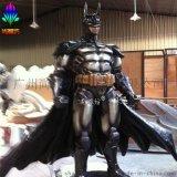 廣州尚雕坊直銷最新款H230CM蝙蝠俠玻璃鋼雕塑樹脂擺件