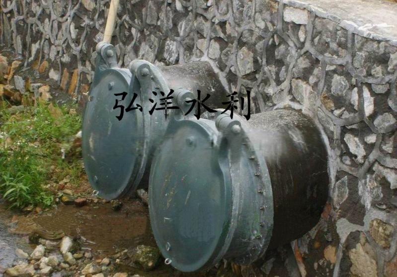 管道污水处理拍门 排水防倒灌拍门 DN1000铸铁拍门