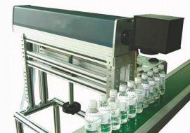 C02二氧化碳激光打标机 彩盒透明塑胶塑料瓶条形码二维码打标机