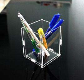 欧式单格亚克力收纳盒|**水晶有机玻璃办公家居收纳盒|广州厂家直销