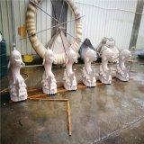 砂岩鲤鱼 喷水雕塑 黄锈石颜色 动物圆雕雕塑定做