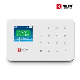 刻锐KR-G18无线GSM防盗报 器店铺家用门窗红外线智能安防系统