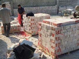 天然文化石厂家晚霞红蘑菇石墙面砖