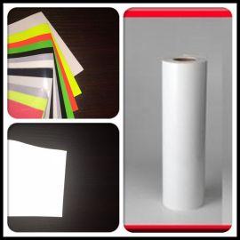 创时反光幻彩丝网透明转印膜量大包邮反光转印刻字膜厂家