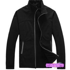 定做单层复合摇粒绒软壳冲锋衣工作服 男女式保暖外套可绣字logo