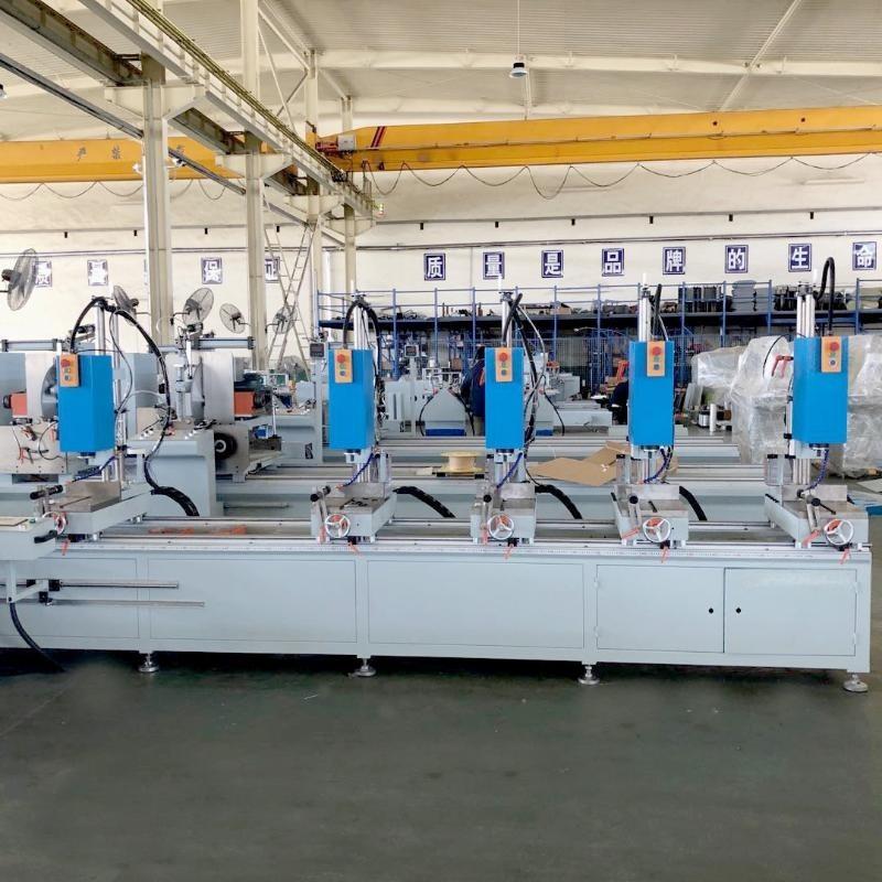 上海直銷鋁型材多頭組合鑽牀鋁型材加工設備