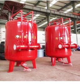 工业消防立式泡沫罐 压力式比例混合装置 固定式泡沫灭火装置