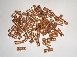 醇油燃烧机器配件铜接头 连高压线点火针端子 醇基燃料打火针铜头