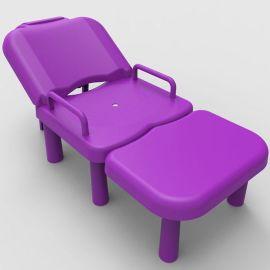 家用大儿童洗头椅洗头床大小孩可拆洗头躺椅加厚户外休闲椅