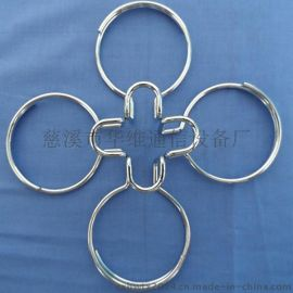不锈钢理线圈 皮线光缆理线环 S型固定件 C型拉钩厂家直销