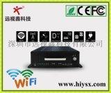 8路车载硬盘录像机 GPS+3G WCDMA+WIFI 最大支持1T 硬盘+64G SD卡