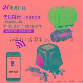 無線電動閥價格 wifi電動閥開關控制器 智慧化灌溉澆花系統