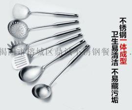 广东揭阳不锈钢勺铲 不锈钢厨房烹饪厨具 锅铲子汤勺漏勺 厂家直销