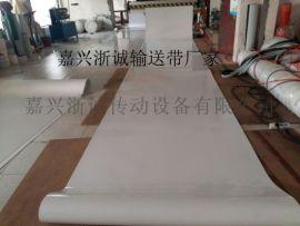 浙江白色pvc输送带 白色食品传送带