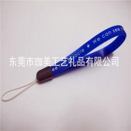 供应PVC软胶手机挂绳  卡通手机吊绳  塑胶吊绳