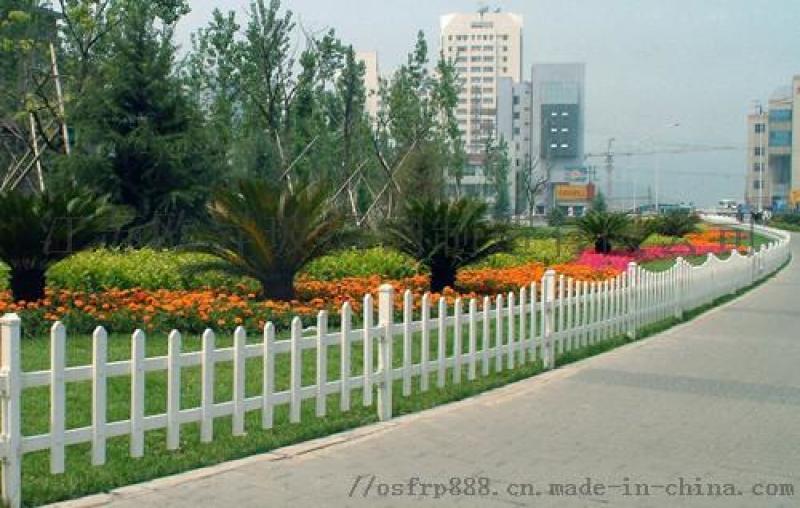 江苏玻璃钢公园护栏 玻璃钢围栏厂家