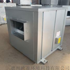 厂家直销HTFC-12低噪声柜式离心风机箱