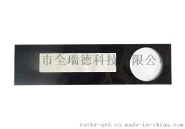 电子琴显示屏镜片 PC面板 亚克力面板精雕 丝印 热压 热弯加工定制成型 深圳全瑞德科技