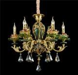 创意新法式水晶吊灯 锌合金客厅卧室餐厅灯 欧式别墅会所工程吊灯
