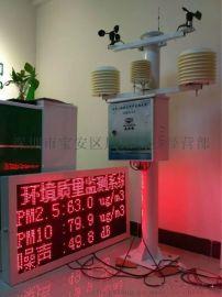 噪声扬尘自动在线监测系统  工地扬尘实时检测仪 OSEN 厂家现货