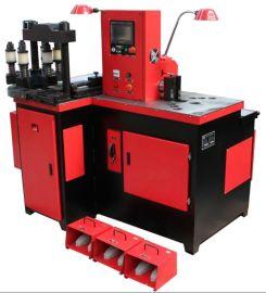 KSW303DS 数控直线式折弯三工位液压母线加工机