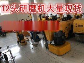 厂家自带吸尘效果的地面打磨及环氧施工无尘打磨机
