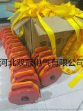 供应双冠牌JSD安全警示带施工隔离带警戒带 加厚锦纶织带定做各种型号