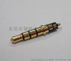 大量耳机插针3.5*4.5*23.8四级音频插头三声道