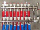 黄铜分水器-锻造一体式地暖分水器HF3-1.2*1216