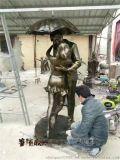 爱情主题雕塑,玻璃钢情侣雕塑