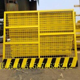 【现货/来图订制】鹰潭/赣州基坑护栏价格~工地红白漆围栏~电梯安全门