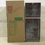 双门立式消毒柜臭氧杀菌低温消毒立式保洁消毒柜 豪华型保洁柜立式食具消毒柜