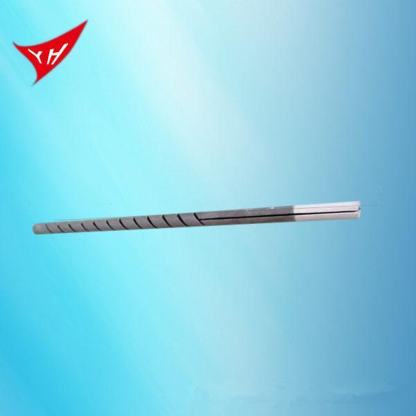 單頭雙螺紋矽碳棒加熱管