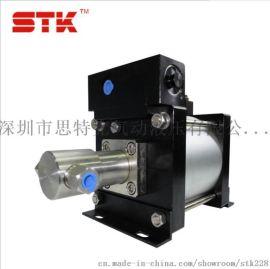 STK思特克AH130不锈钢气液增压泵
