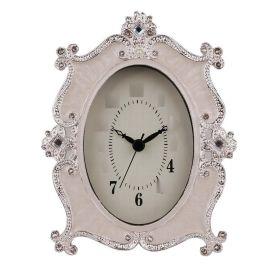 欧式台式客厅电池简约现代装饰个性创意卧室床头钟表摆件静音