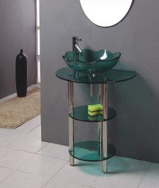 玻璃台盆(B-035)