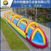 城市滑水道PVC充氣氣模水滑道廠家直銷定製