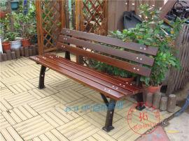 铸铁户外座椅防腐靠背长条椅园林广场休闲座椅路椅