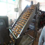 蒲州G天然气鱼豆腐油炸机 隧道鱼豆腐油炸设备图片