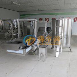 DRG-500猪皮油炸机 电加热连续猪皮油炸机说明
